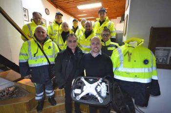 protezione-civile-ariano-irpino-drone-ricevuto-in-regalo
