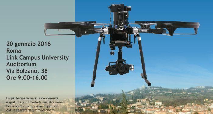 droni e telerilevamento conferenza roma drone conference