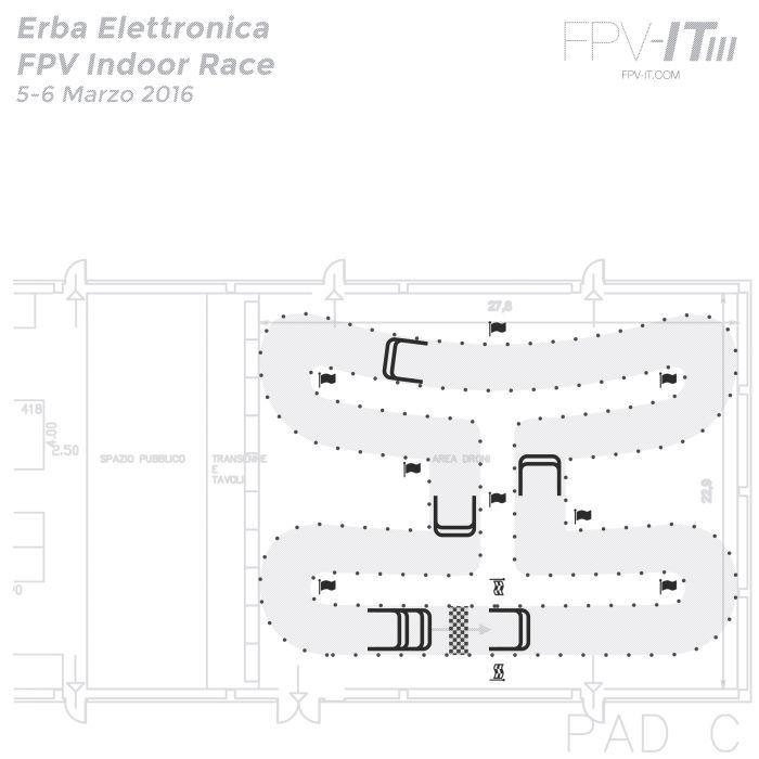 FPV drone racinga Erba 5-6 marzo