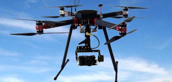 Drone Flybut di Flytop