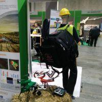 Il drone agricolo Efesto di Zefiro con il suo zaino