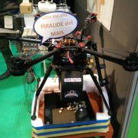 Il drone con dispenser di Feg.bio