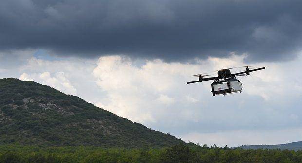 Ruanda blood drone