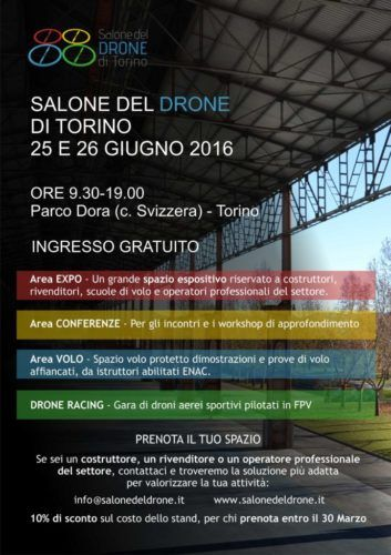 Salone del Drone - Locandina A4