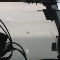 Bleriot in scala seguito e pilotato da un elicottero (2009)
