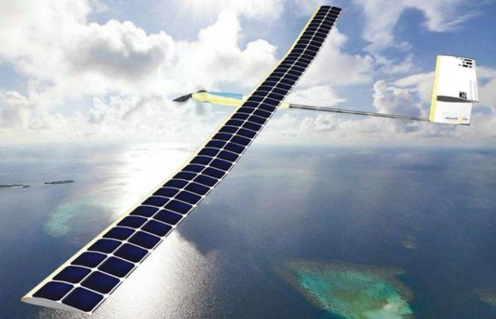 drone a energia solare atlantiksolar