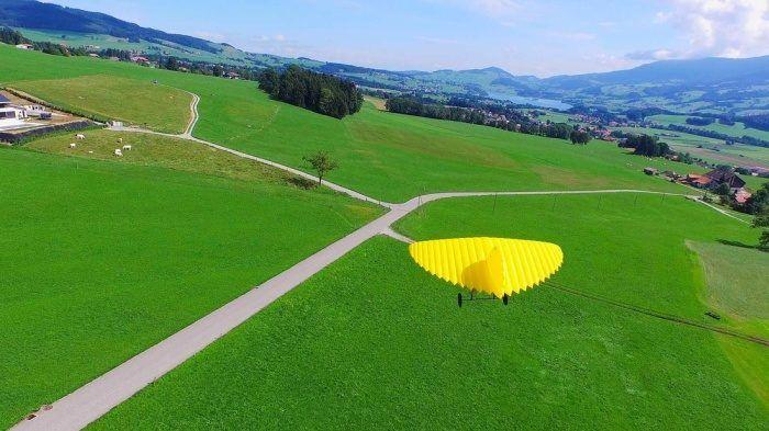 drone da carico ala fissa gonfiabile