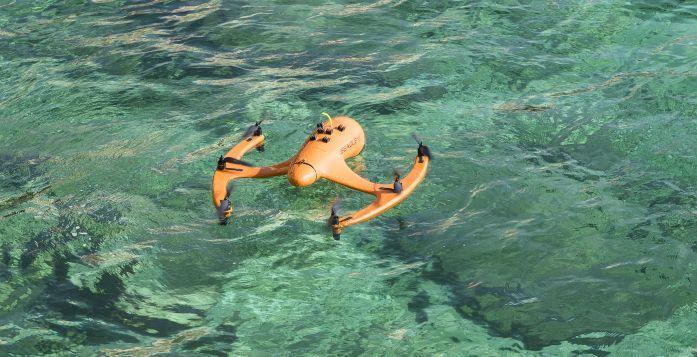drone volante e anti spruzzo seagle