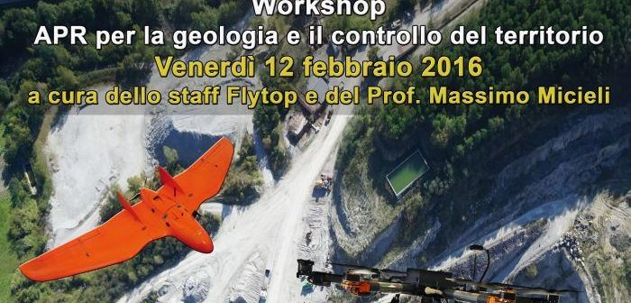 wokshop droni e apr per la geologia
