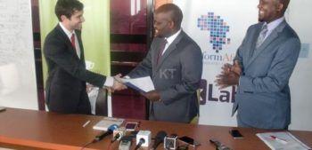 zipline firma contratto ruanda