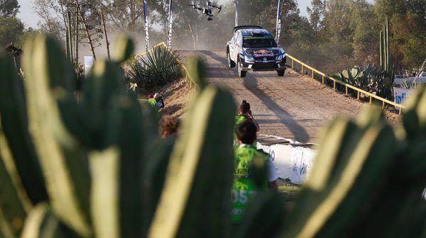 drone DJI inspire al WRC di Mexico 2016