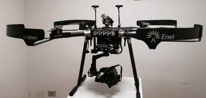 drone certificato per ENEL energia