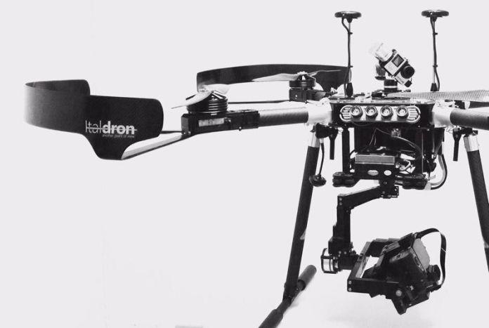 drone italdron per ENEL