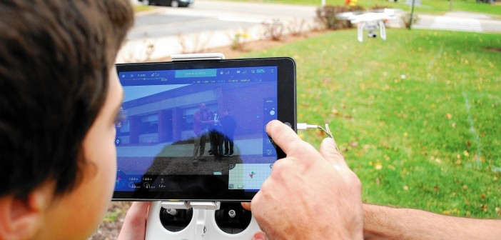 Tennessee school drone