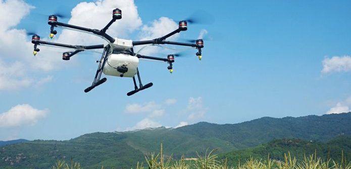 drone DJI MG1 per agricoltura