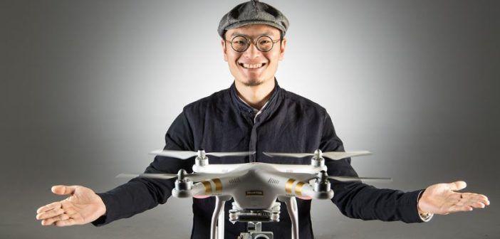 fondatore dji Frank Wang