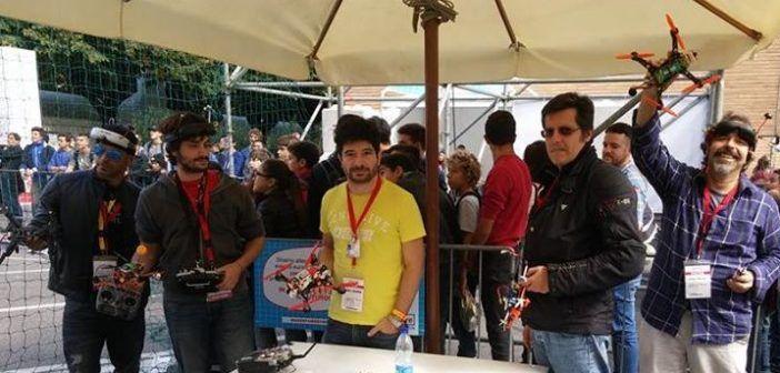 gruppo droni racing FPV roma