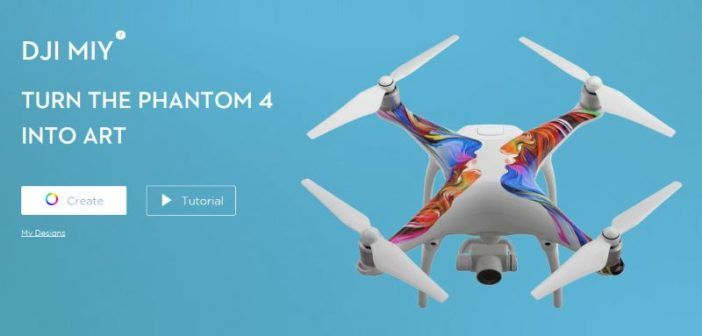 personalizzare phantom 4