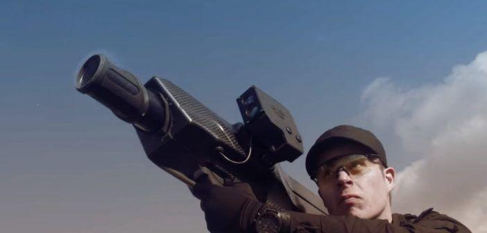 skywall bazooka cattura droni