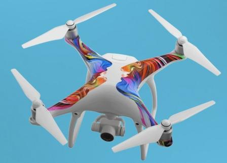 New-Phantom-4-Drone-From-DJI-With-Skins