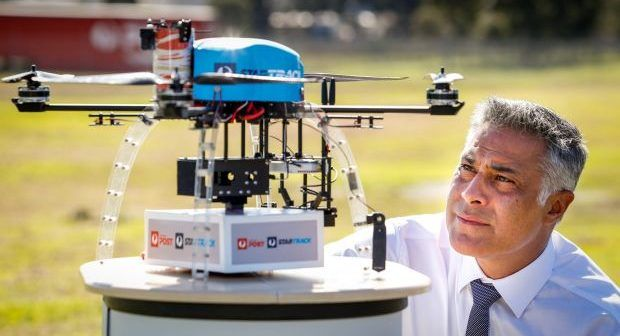 australian delivery drone