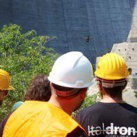 Rilevi con drone su diga di Ridracoli