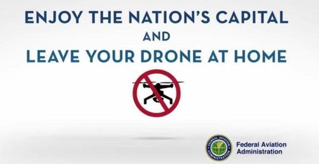 no drone zone at washington dc