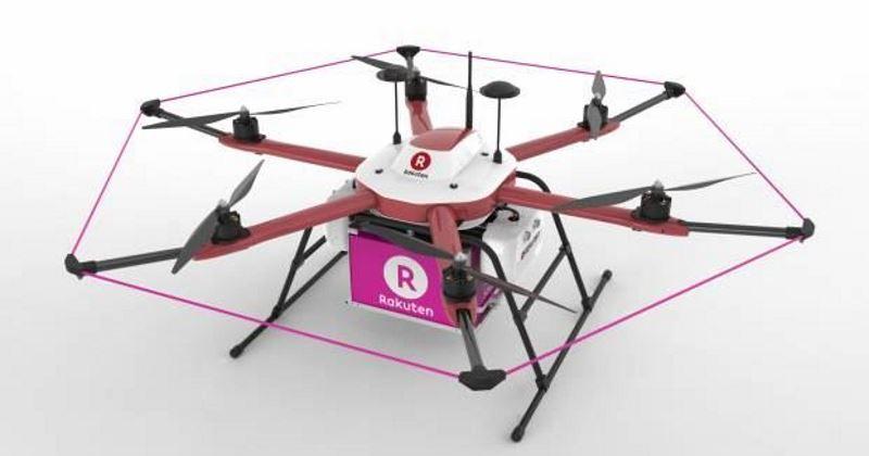 rakuten tenku drone