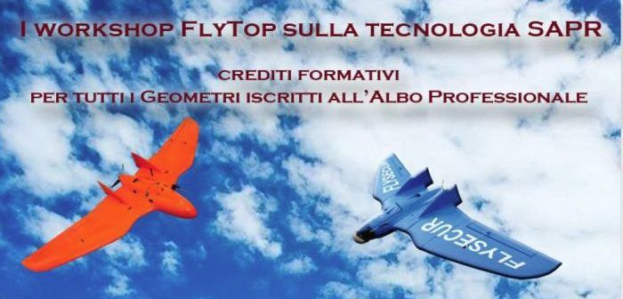 workshop droni flytop per geometri