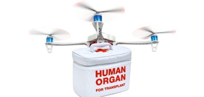 in india droni consegneranno organi