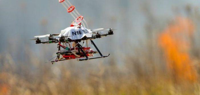 nebraska drone incendiario