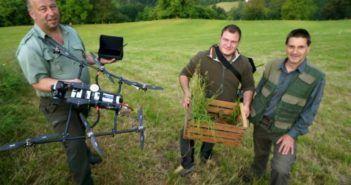 droni per salvare cerbiatti