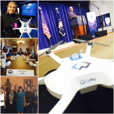 il drone cyphy lvl 1 alla casa bianca