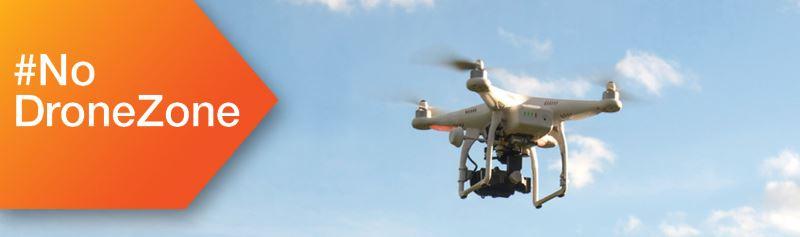 no drone zone canada