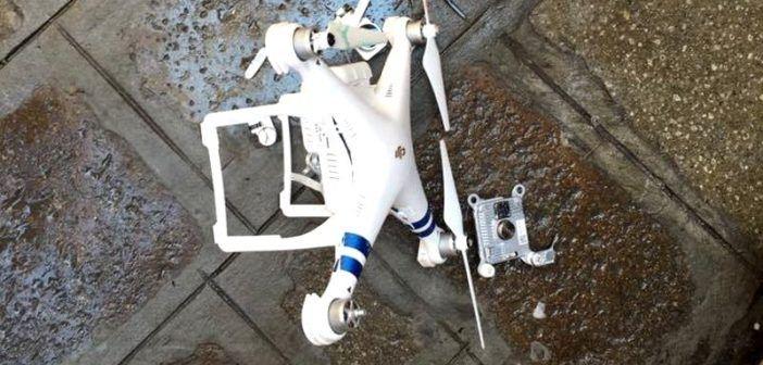 drone caduto a venezia 28.06 luglio