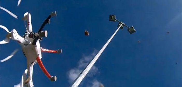 Due terzi degli incidenti con piccoli droni dipendono da guasti tecnici