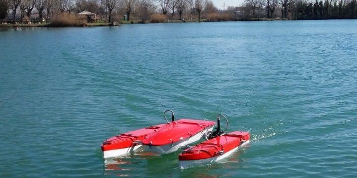 drone acquatico S.Wa.P. progetto NAIADI