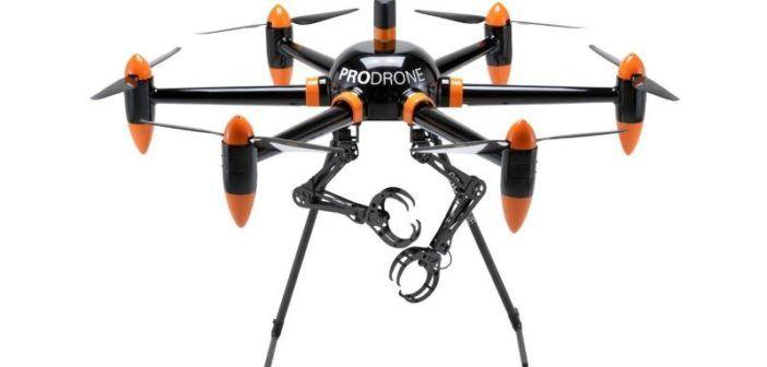 drone braccia e artigli Prodrone