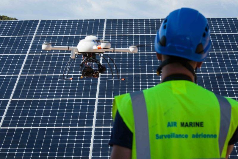 droni ispezioni impianti solari