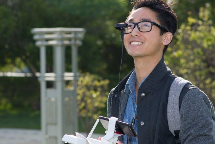 vufine-occhiale-realta-aumentata-per-drone