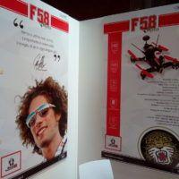 F58 SIC il drone da FPV racing approvato della fondazione Simoncelli in memoria del compianto pilota