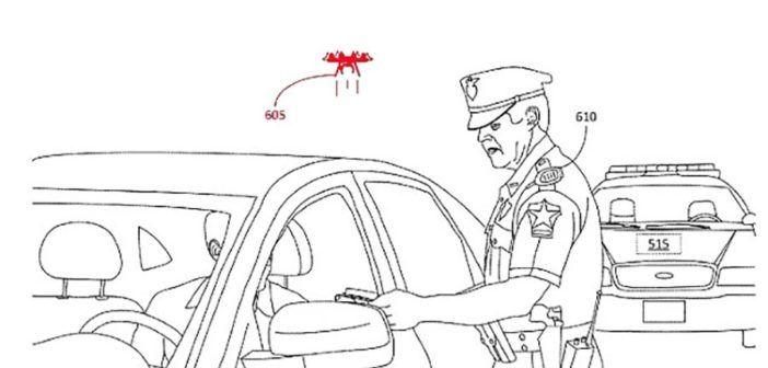 Amazon brevetta micro droni personali per la polizia e per trovare un parcheggio