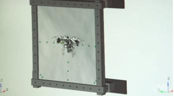 Che succede se un drone sbatte contro il finestrino di un aeroplano? Niente.