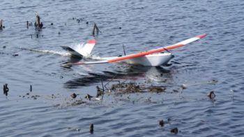 Una curiosa foto dell'ala fissa di PrecisionHawk