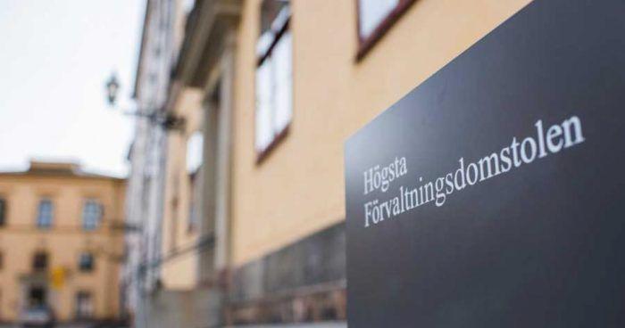 La sede della Corte Suprema Amministrativa svedeese a Stoccolma