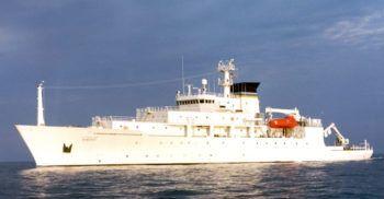 La nave oceanografica USNS Bowditch
