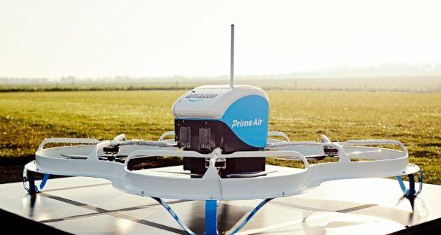 amazon prima consegna Prime Air con drone