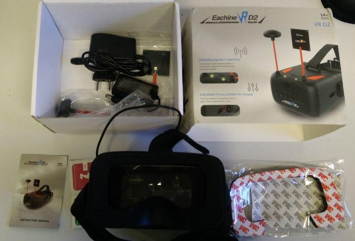 imballo-e-confezione-eachine-vr-d2-occhiali-fpv-drone-racing