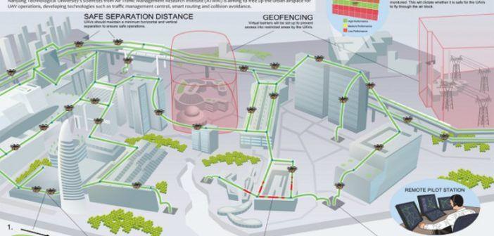 singapore-sistema-gestione-traffico-droni