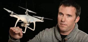 Joh Parker, il pilota del drone di Boeing